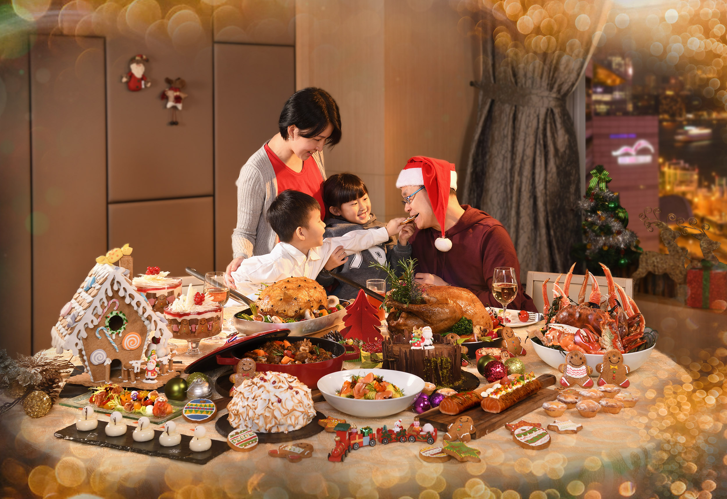 Christmas Family Fun at the HKCEC - Christmas Buffet Promotion