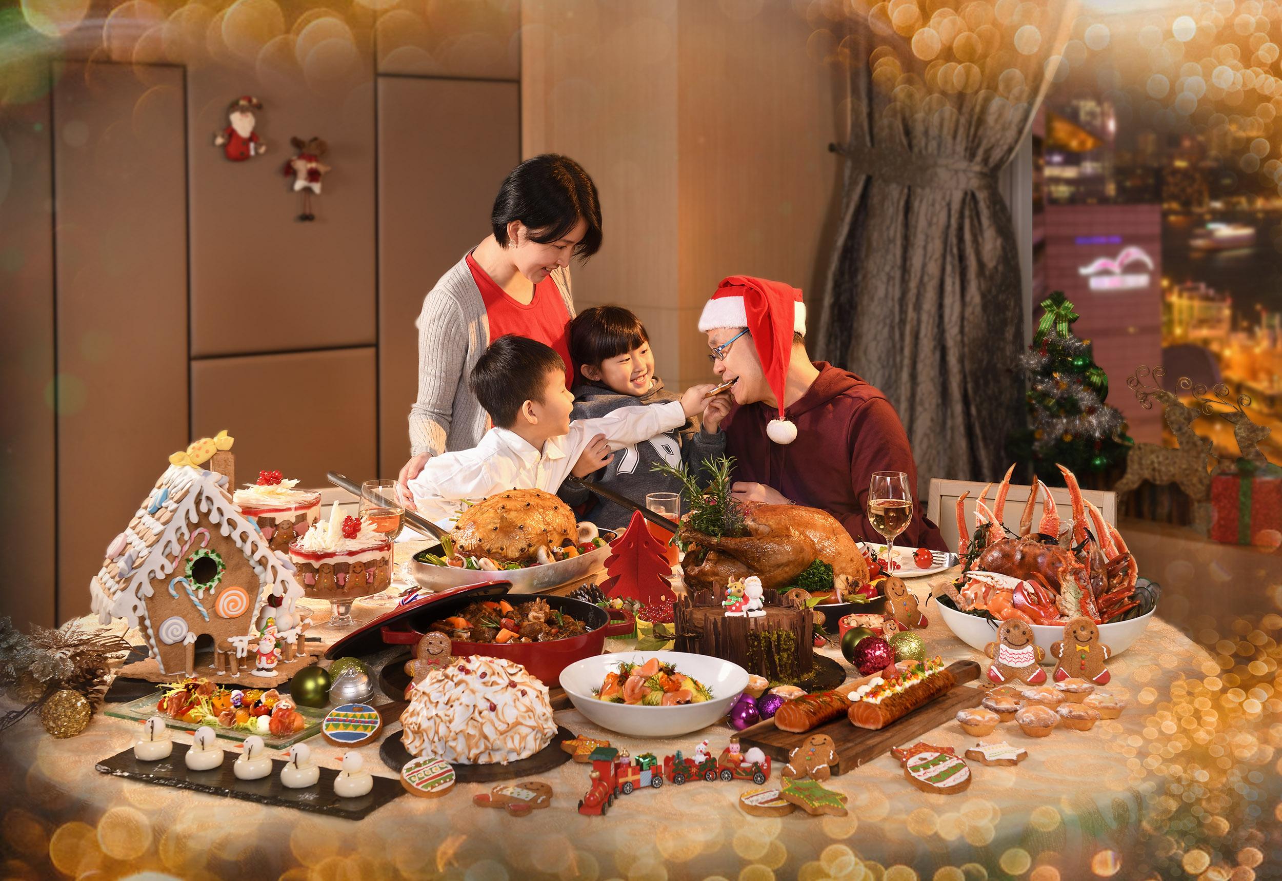 香港會議展覽中心 聖誕.樂享天倫 聖誕自助晚餐優惠推廣