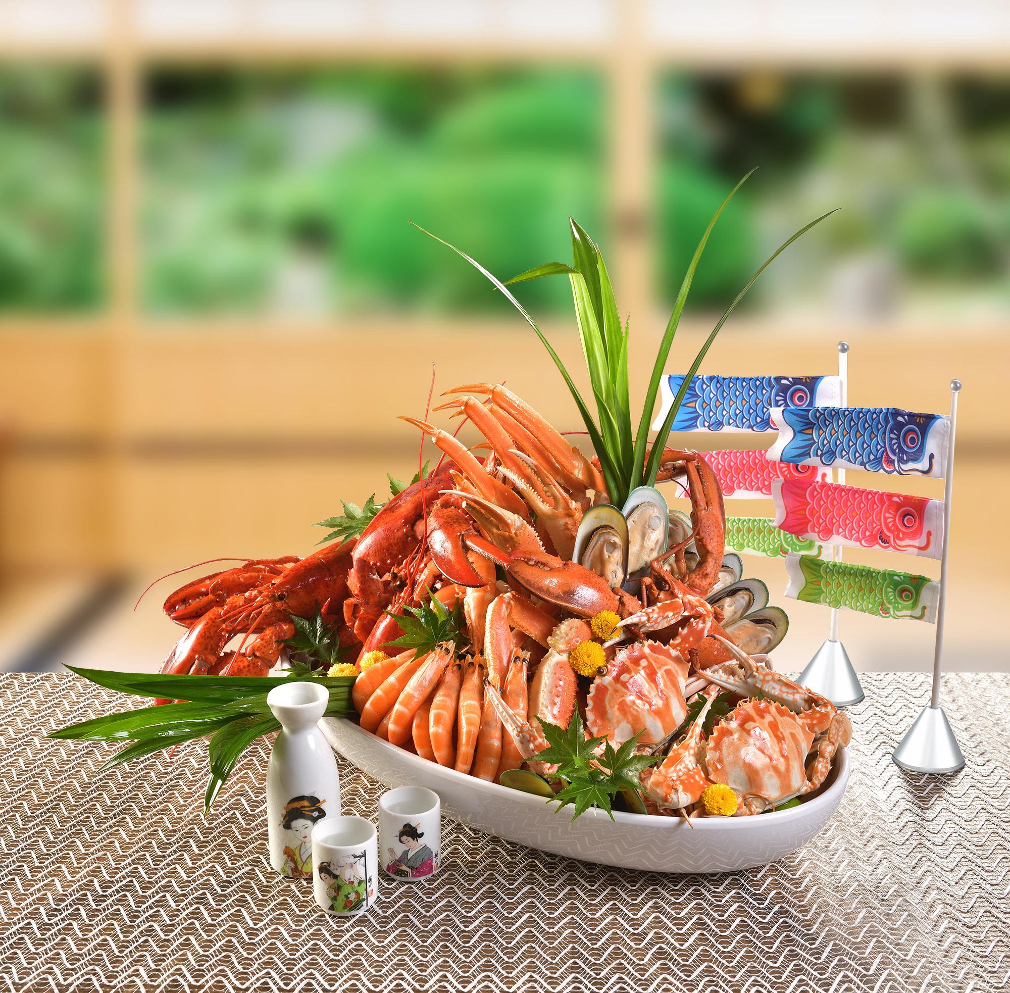 薈景「和風•海鮮薈」自助晚餐呈獻日式美食,可享高達8折優惠
