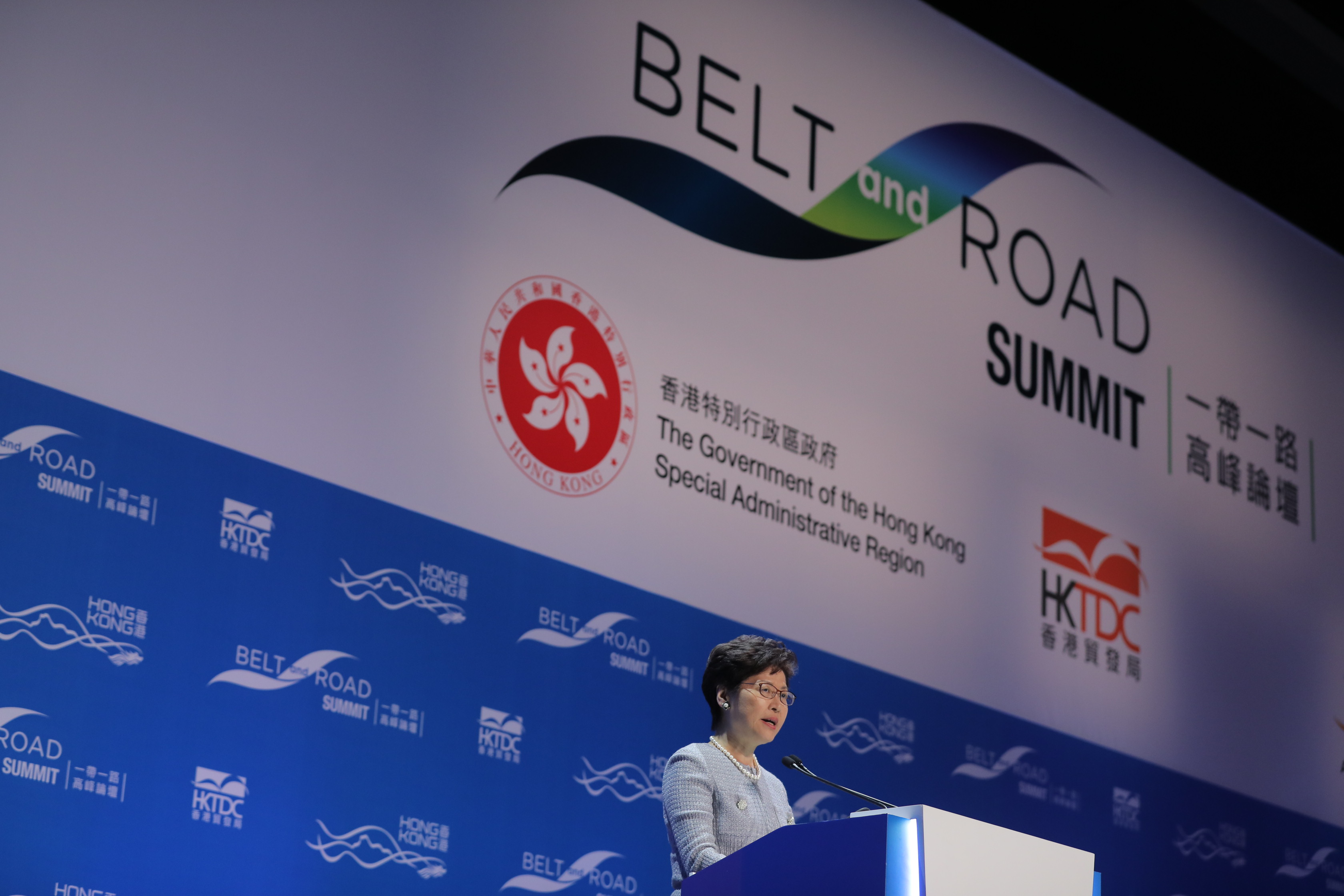 The Belt & Road Summit was successfully held at the HKCEC, with participation of over 5,000 delegates from many countries and regions.