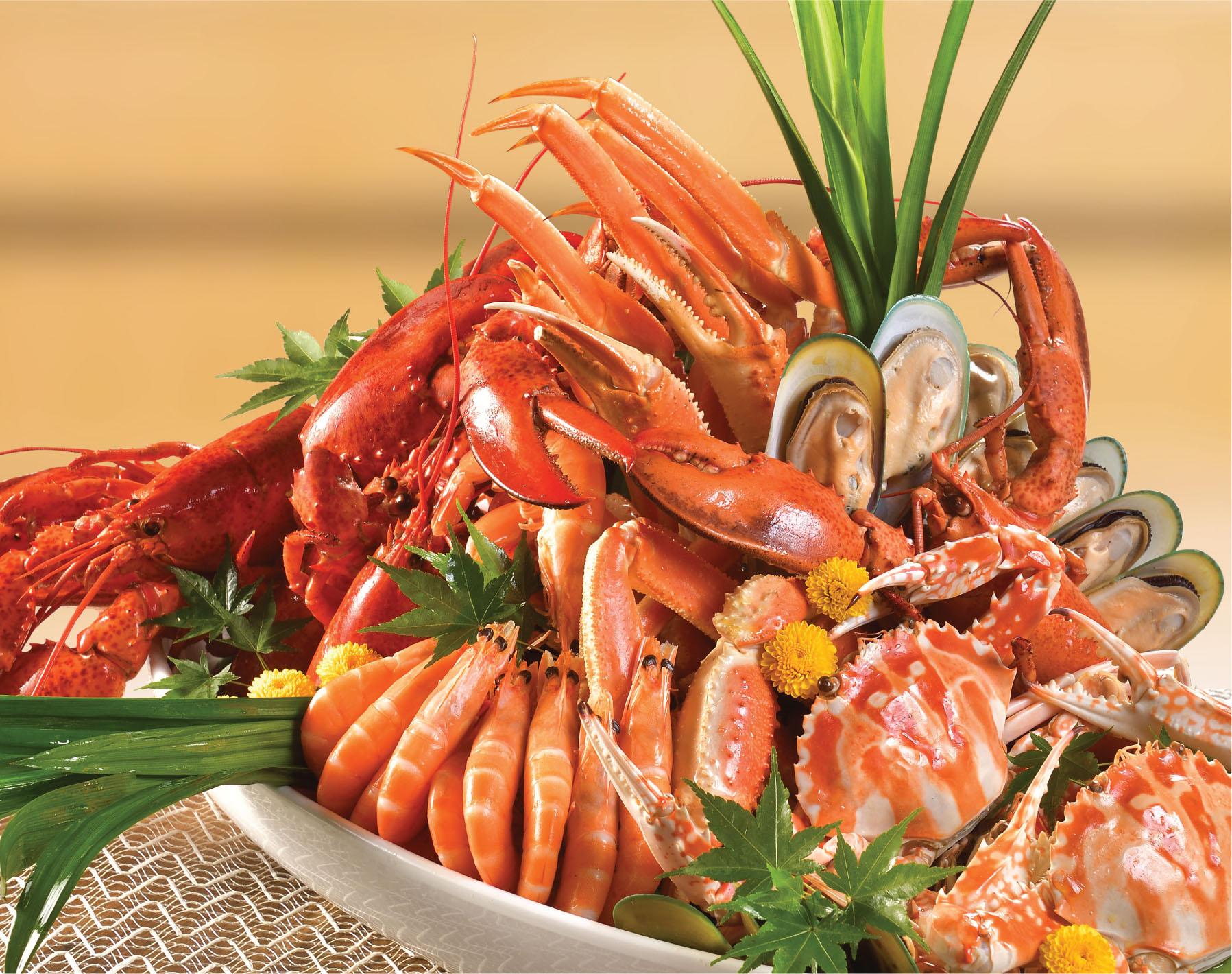 荟景海鲜自助晚餐高达8折优惠