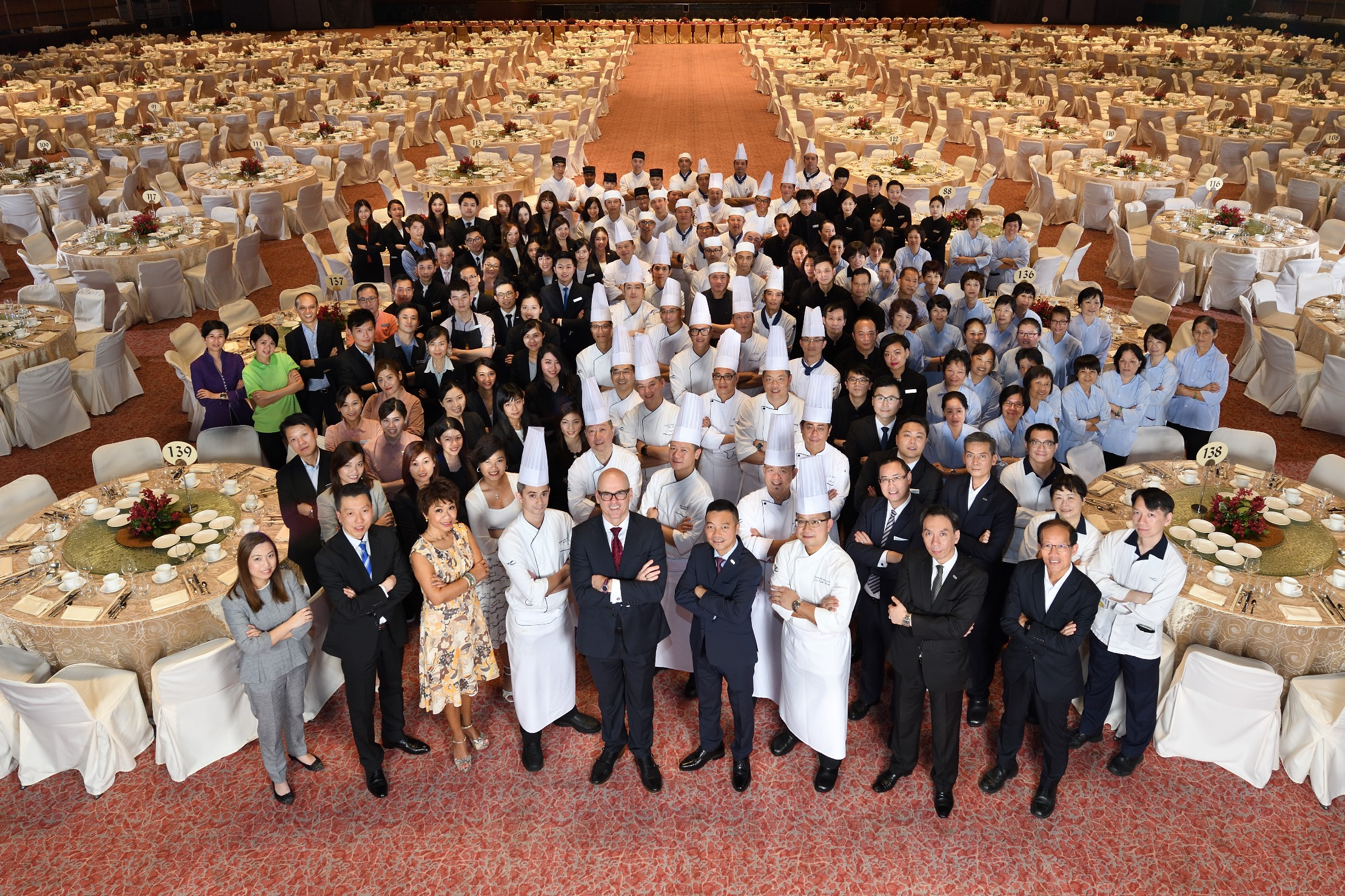 HKCEC's stronger than ever team set to raise F&B service standard to new height